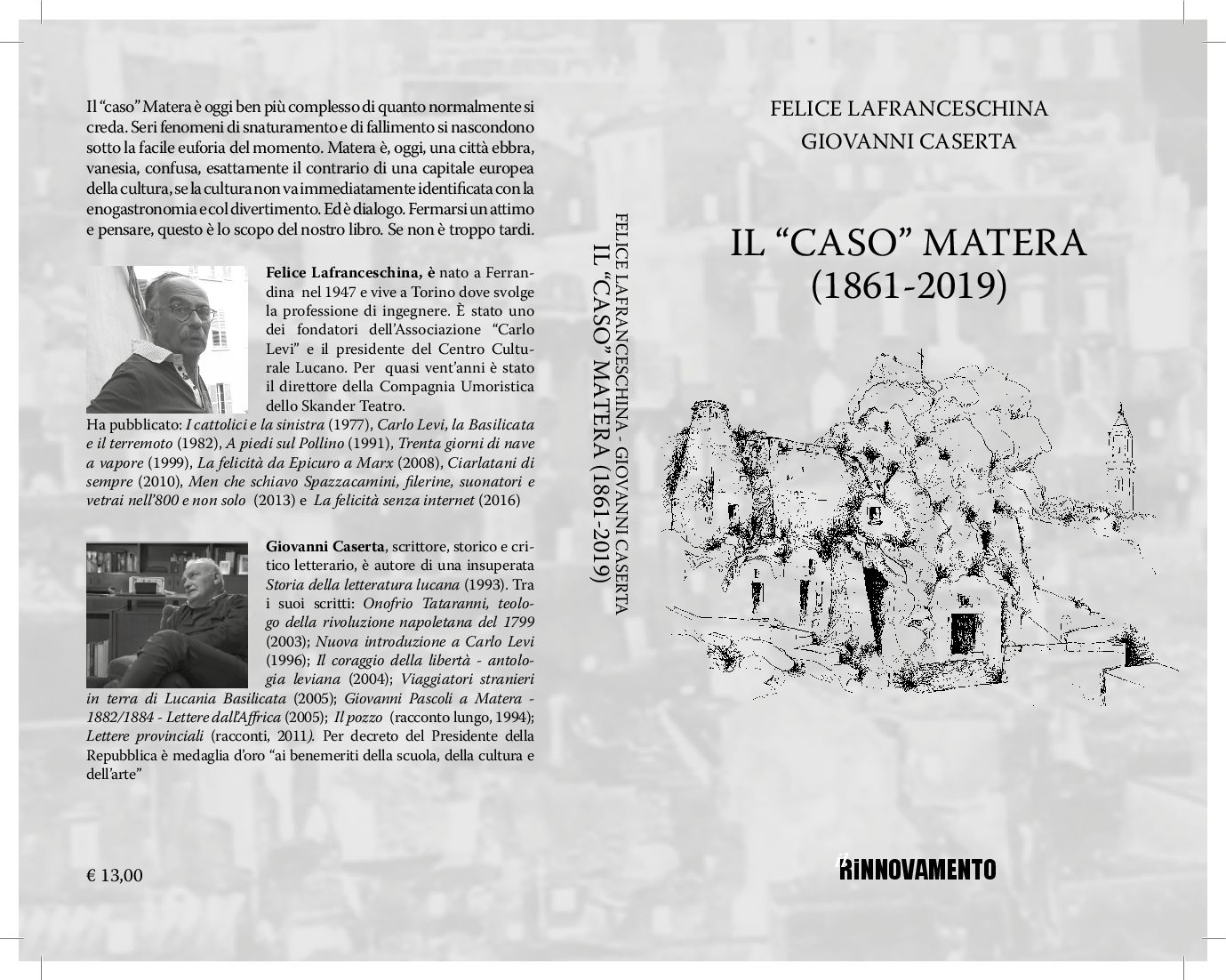 """Il """"caso"""" Matera(1861-2019)"""